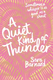 a quiet kind of thunder sara barnard