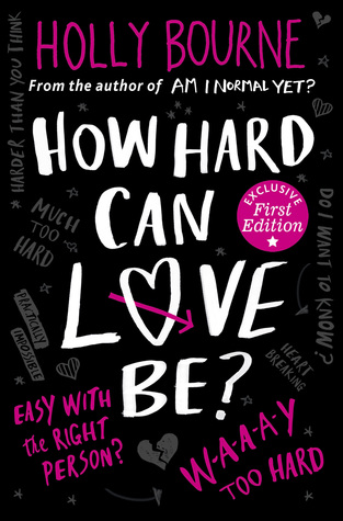 how hard can love be holly bourne the spinster club